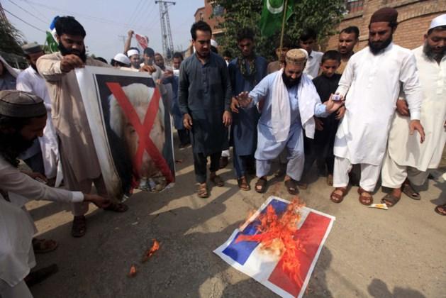 Honderden bij mars tegen Wilders in Pakistan