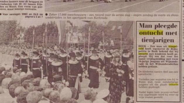 Zaak Nicky Verstappen: politie onderzoekt krantenbericht uit 1985