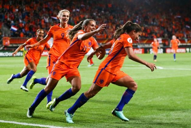 Voetbalsters in play-offs WK tegen Denemarken