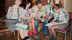 Brech kon bij scouting in Polen gewoon doorgaan