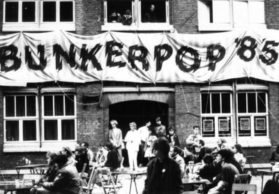 Bunkerpop: Podium voor de toekomst met bijzonder affiche
