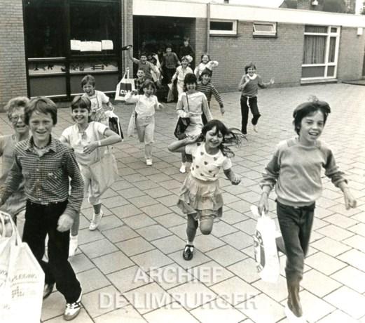 Kiek van toen: Laatste schooldag