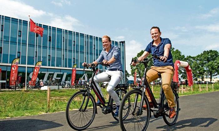 'Fiets hier niet gekocht, fiets hier niet gerepareerd', maar dan andersom