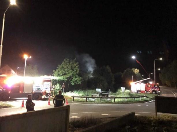 Brand verwoest kookstudio in Panningen