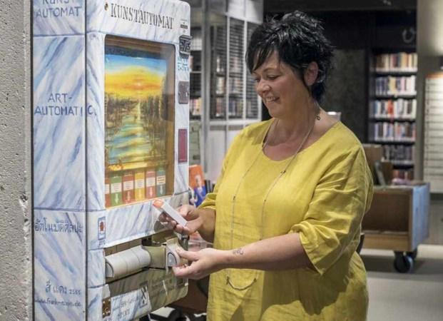 Verrassende kunst uit de sigarettenautomaat