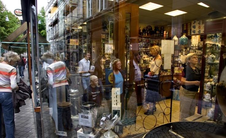 Shoppen: alleen Maastricht doet het goed