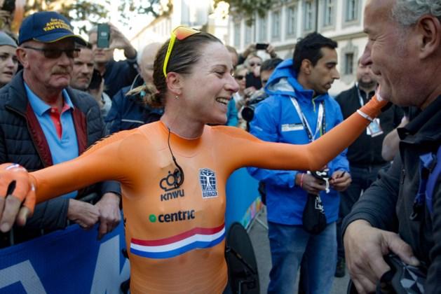 Goud, zilver en brons voor Nederland bij WK tijdrijden vrouwen