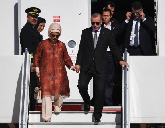 Gespannen staatsbezoek Erdogan aan Duitsland 'kwam te vroeg'