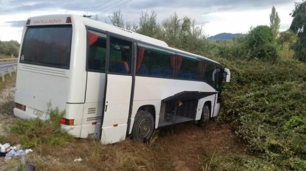 Drie Nederlanders gewond na busongeluk op Lesbos