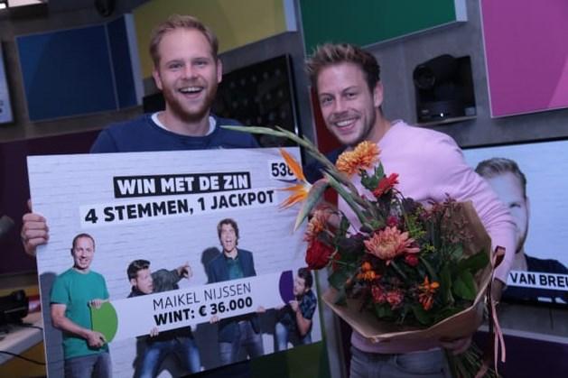 Baexemse Maikel wint 36.000 euro met spel van Radio 538