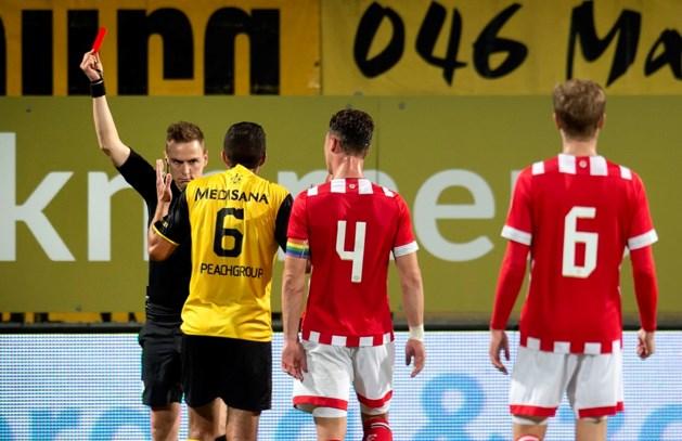 Roda-spelers Milts en El Makrini drie duels aan de kant