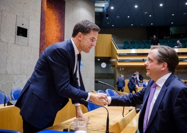 Rutte: coalitie doorstaat vertrek Pechtold