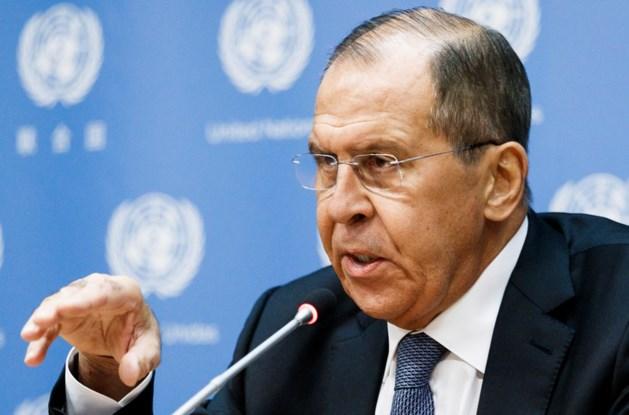 Lavrov: Russische hackers maakten routinereis