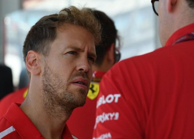 Vettel wil geen publieke strijd met Verstappen: 'Praten onder vier ogen'
