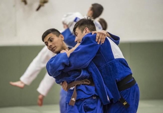Judoka Ivo Verhorstert verheugt zich op verlossing van bruine band