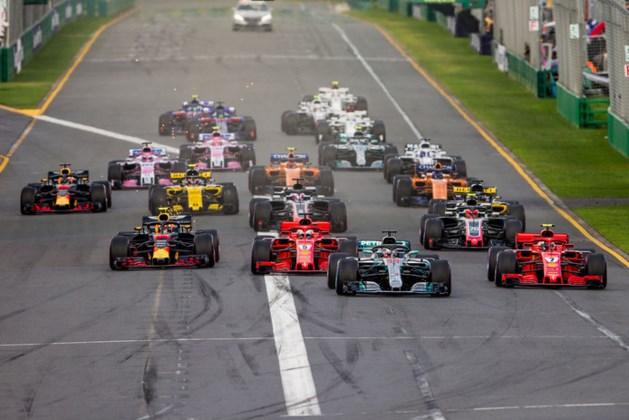 Nog maar drie kleuren op de Formule 1-banden