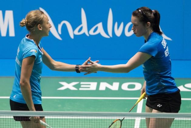 Badmintonsters Seinen en Piek stunten tegen wereldkampioen
