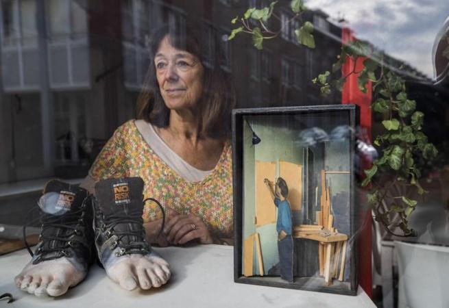 Werk van zieke 'geheime' kunstenaar voor het laatst te zien