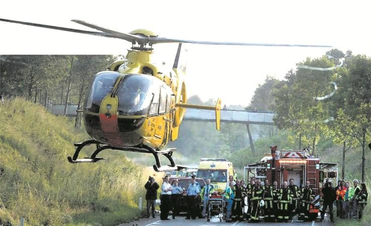 Traumahelikopters worden veel vaker ingezet
