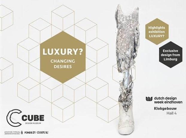 Crystal Leg Cube op Dutch Design Week