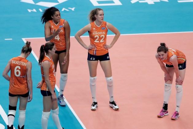 Volleybalsters sluiten WK zonder medaille af