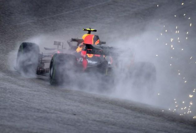 Verstappen vijfde in droge training, Vettel snelste