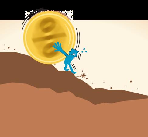 Hoe lager de rente, hoe groter de ellende