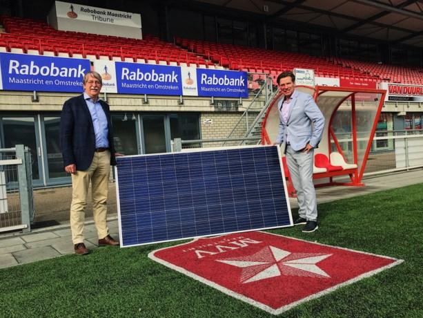 Dak van De Geusselt als zonnecentrale voor Stralend MVV