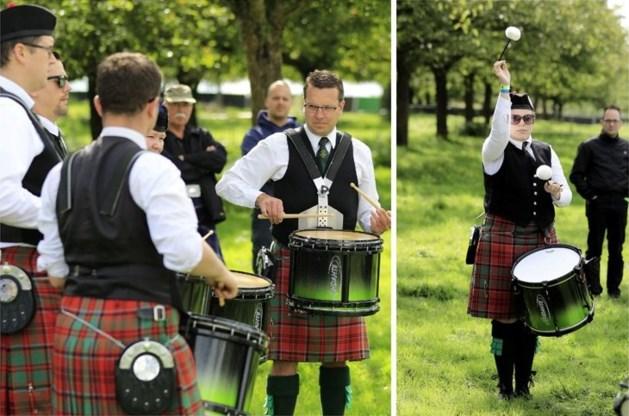 Coriovallum Pipe Band viert 40-jarig jubileum