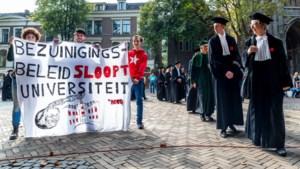 Studenten komen in actie tegen leenstelsel