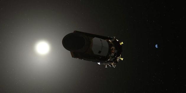 NASA zet ruimtetelescoop uit: brandstof op