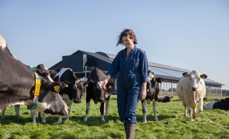 Boer-Zoekt-Vrouw boerin Agnes op de bres voor collega's: 'Het boerenleven is ook moeilijk'