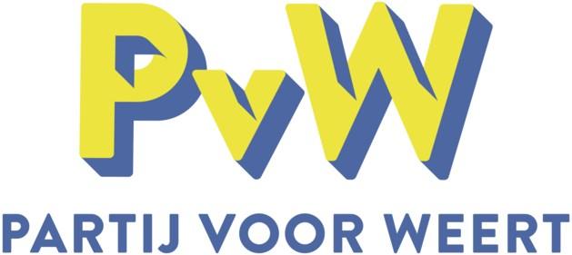 Nieuw logo Partij voor Weert