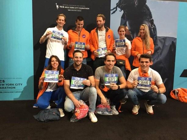 Marathonlopers rennen 63.000 euro voor KiKa bij elkaar