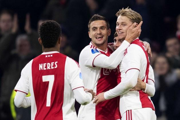 Ajax boekt dankzij bliksemstart simpele zege op Willem II