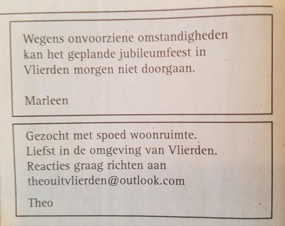 Mysterieuze 'Theo en Marleen' in Peeldorp eindelijk ontmaskerd