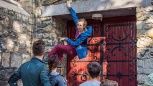 Foto's: Muurklevers beklimmen Heerlense gebouwen