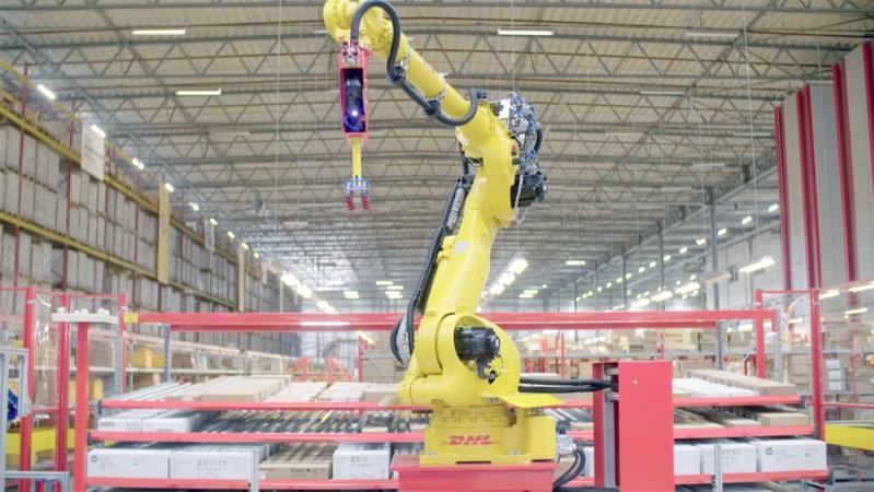 Limburgse robot krijgt ogen en gaat aan de slag bij DHL Beringe