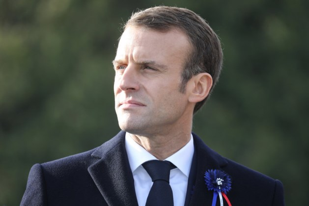 'Voorbereiders gewelddadige actie tegen Macron opgepakt'