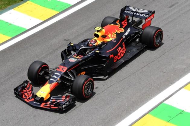 Verstappen zondag op derde startrij in GP van Brazilië