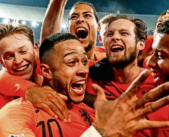 Oranje: loten voor het EK 2020