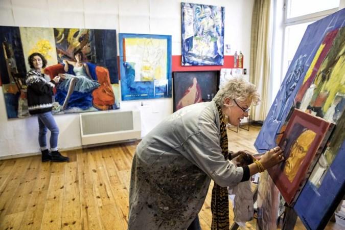 Schilderij bewerken van een overleden kunstenaar