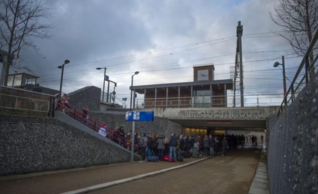 Nieuw perron op station Maastricht-Noord zeker