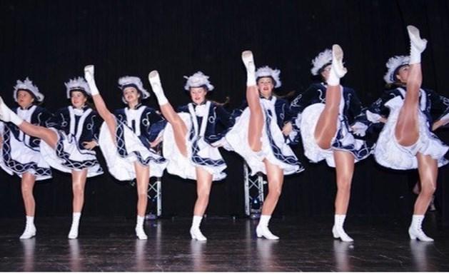 Presentatie Oeles dansgroepen in de Haandert