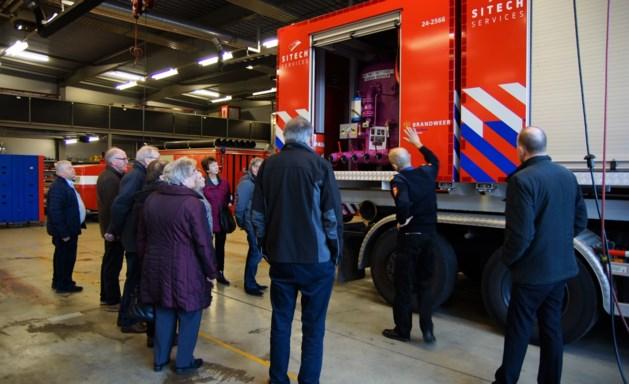 Kernenrit met bezoek aan brandweer Chemelot