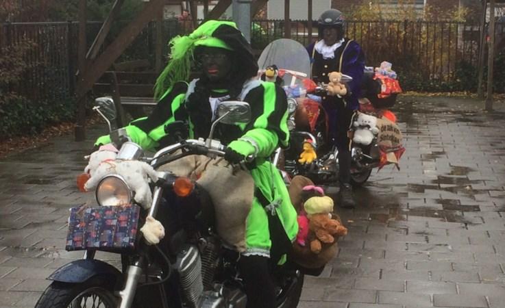 Regen of geen regen: de Motorpieten rijden