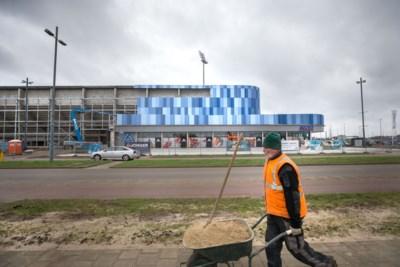 Supermarkt in Fortuna-stadion letterlijk het hoekje om