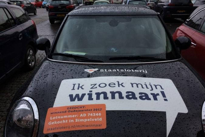 Ook met een megafoon blijft winnaar van de loterij-Mini in Simpelveld onvindbaar