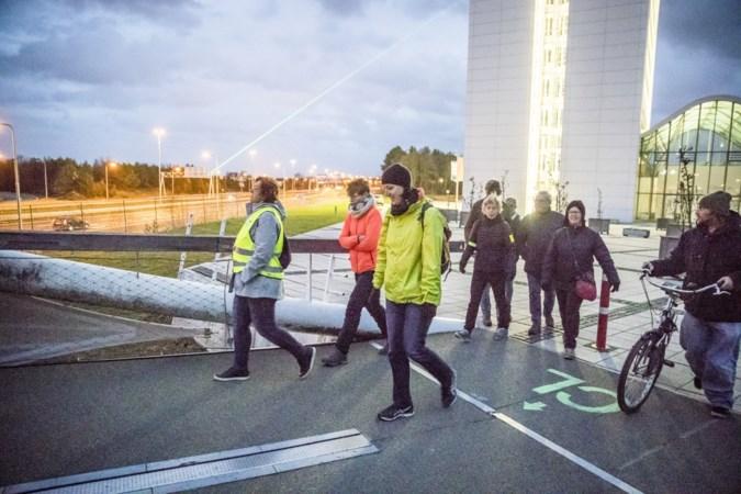 Elke plek biedt ander perspectief op groene laserstralen boven Venlo
