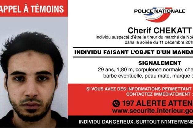 Franse politie verspreidt poster in jacht op tereurverdachte Straatsburg